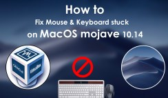 How to fix Mouse & Keyboard stuck on Mac OS mojave on VirtualBox
