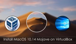 How to install MacOS Mojave on VirtualBox and Windows?