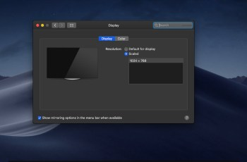 Fix MacOS Mojave Screen Resolution on VMware on Windows
