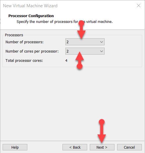 Processor Configuration