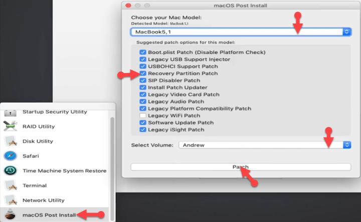 OS X Utilities