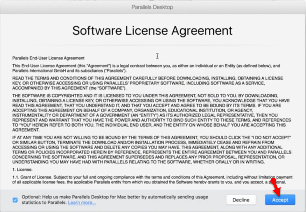 License and Agreement