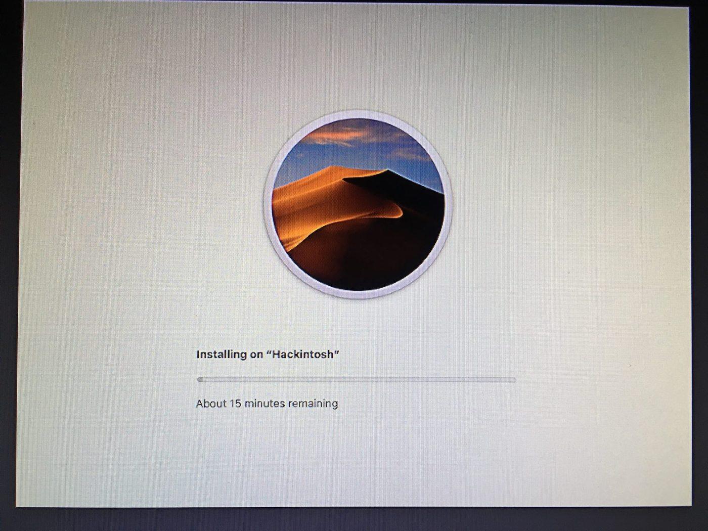 Install macOS Mojave on Hackintosh