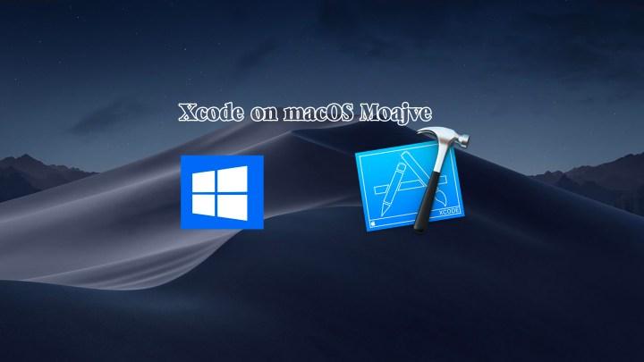 Install Xcode on macOS Mojave