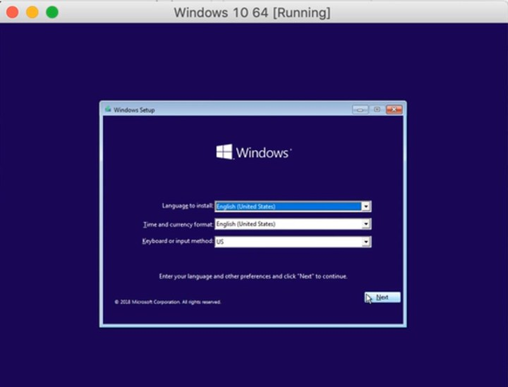 Installing Windows 10 on Mac