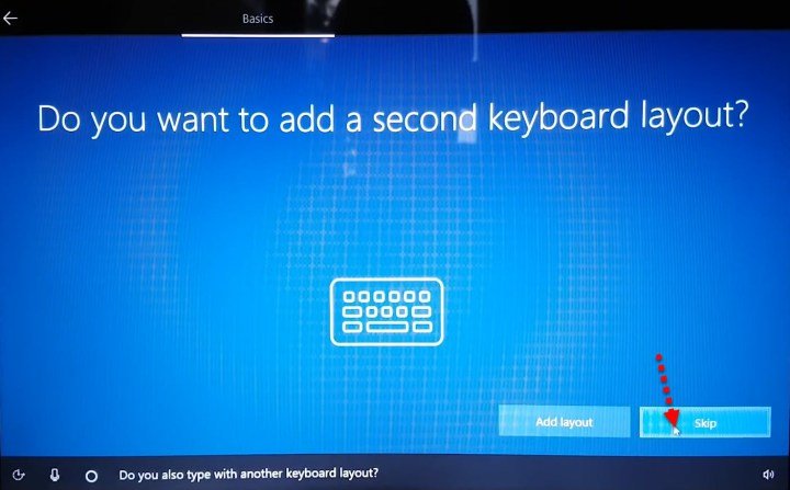 Add keyboard layout