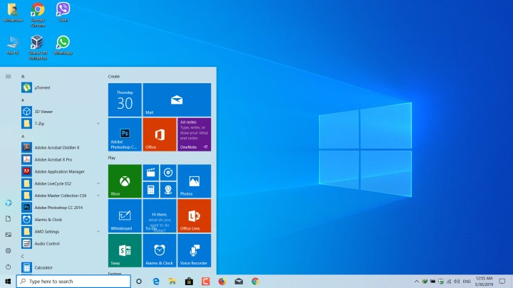 Updated to latest version of Windows