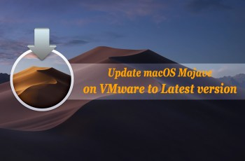 Update macOS Mojave on VMware to Latest version