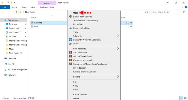 Install Core-info