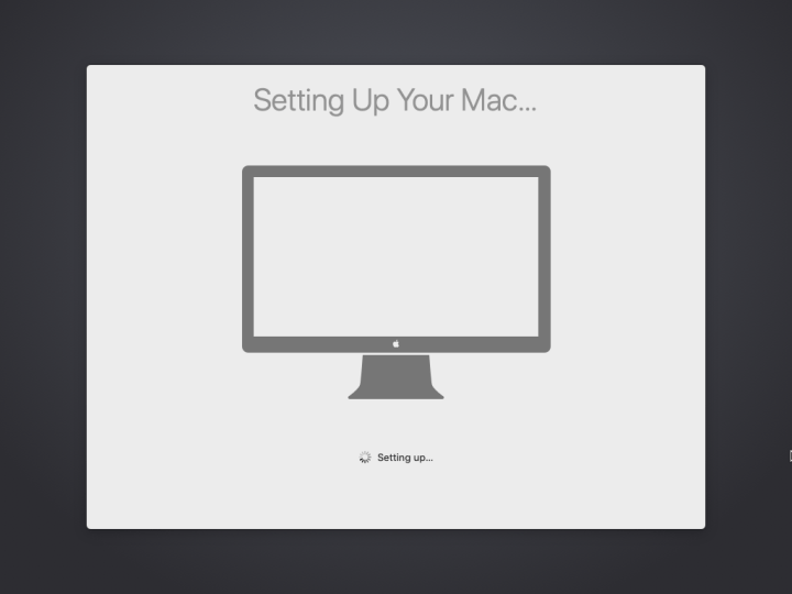 Setting your Mac