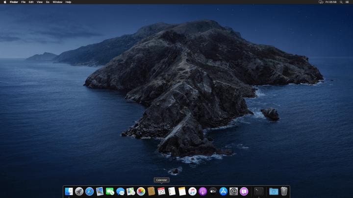 macOS 10.15 Catalina full screen mode on VirtualBox