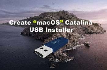 How to Create macOS Catalina USB Installer