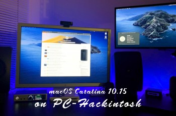 How to Install macOS Catalina 10.15 on PC-Hackintosh