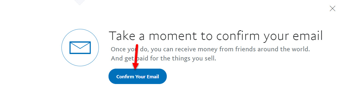 Confirm your email