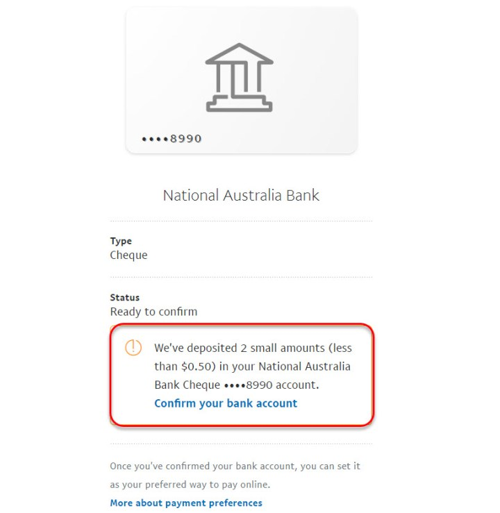 2 small deposit