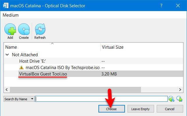 VirtualBox Guest tool