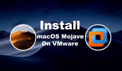 Fast Install macOS Mojave 10.14 on VMware on Windows PC