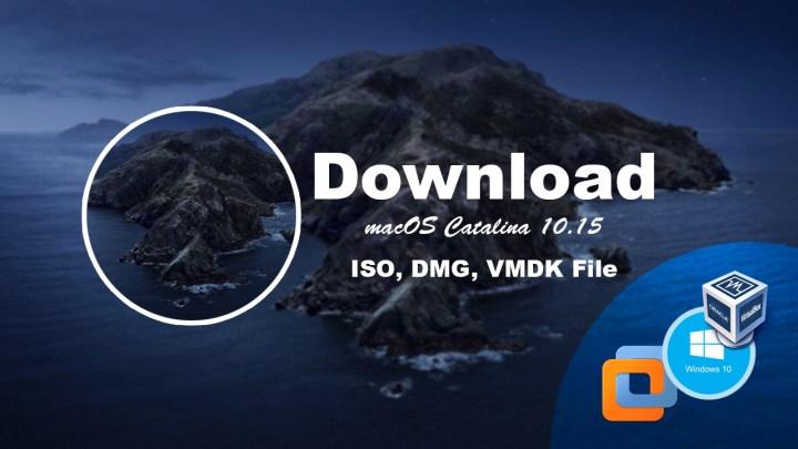 Download macOS Catalina ISO, dmg, VMDK File