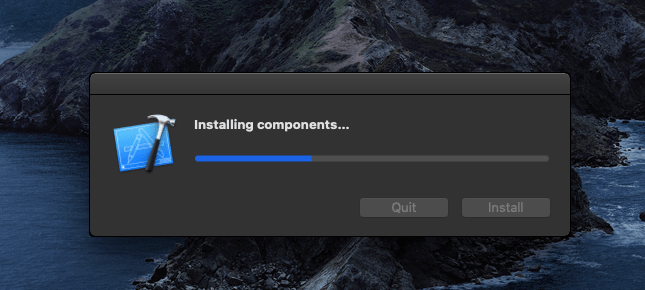 Installing components