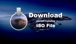 Download ISO File of macOS Catalina 10.15 [Virtual Images]