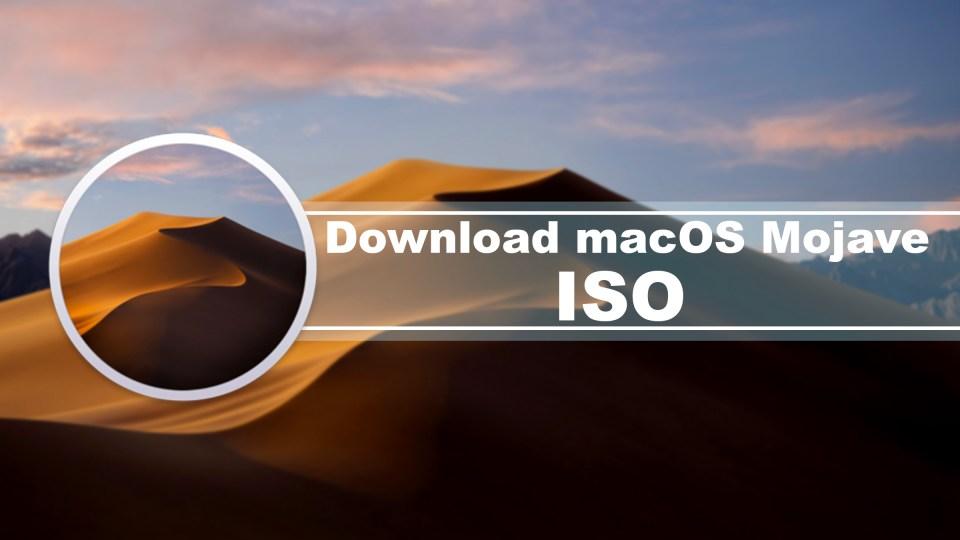 Download macOS Mojave ISO for VMware & VirtualBox