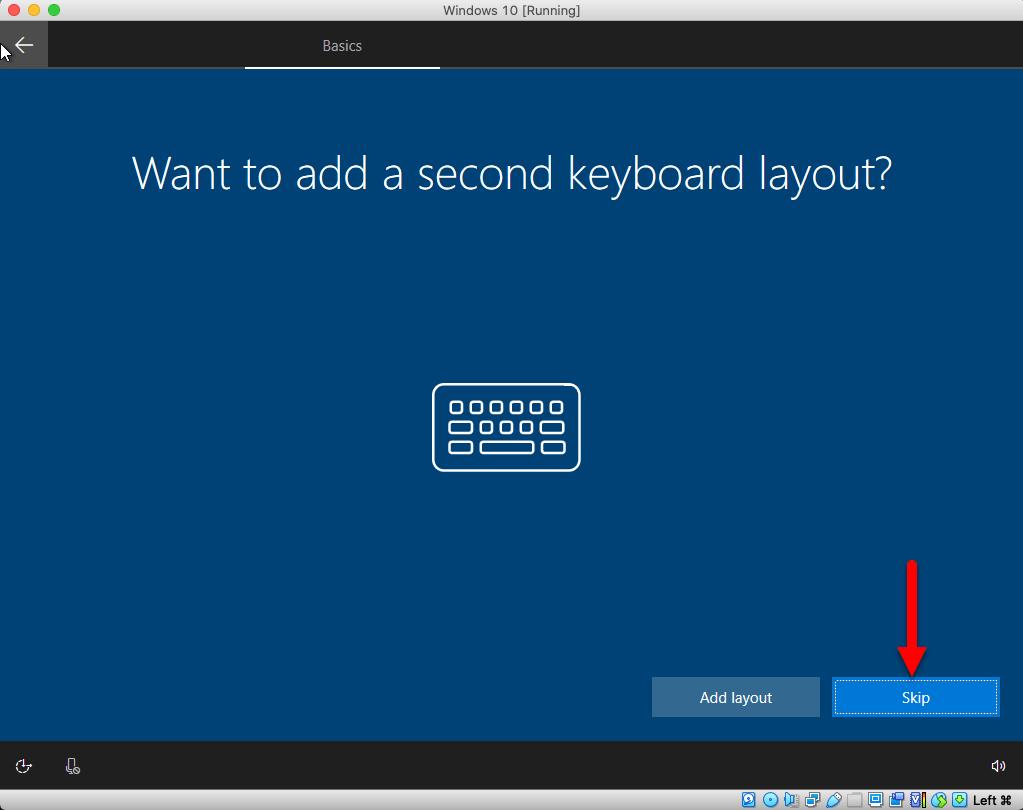 Add second keyboard layout