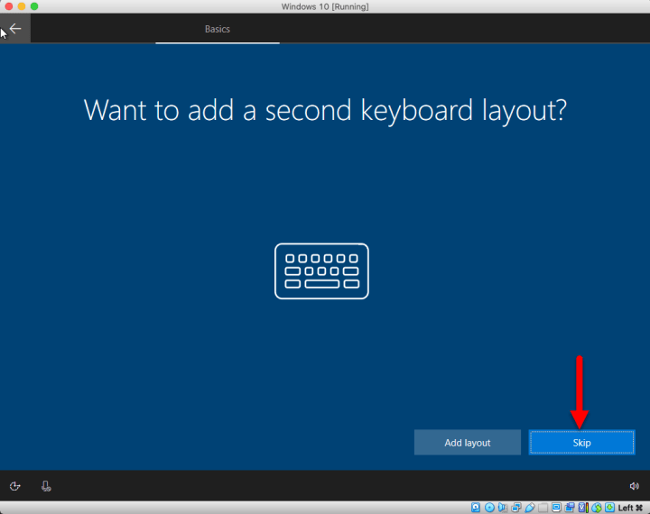 Add second keyboard layout