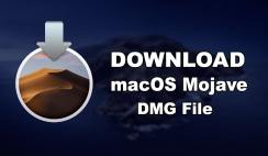 Download macOS Mojave DMG File-Direct Links