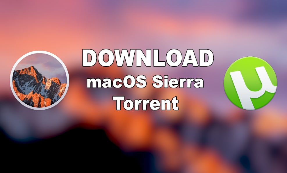 Mac Os Sierra Download Image