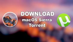 Download macOS Sierra Torrent Image – Latest Version