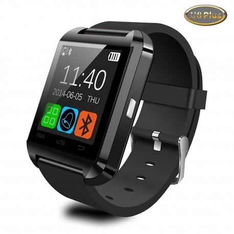 Smartatch U-Watch Bluetooth U8 Plus Negru compativil MicroSD
