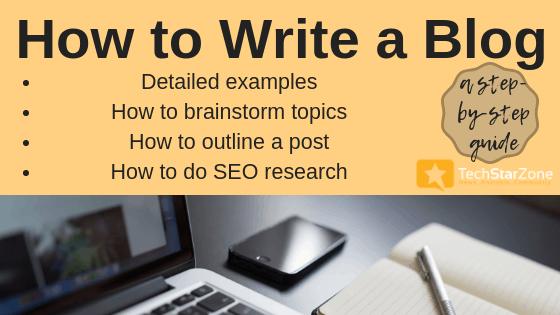 how to write a blog guide blogging seo