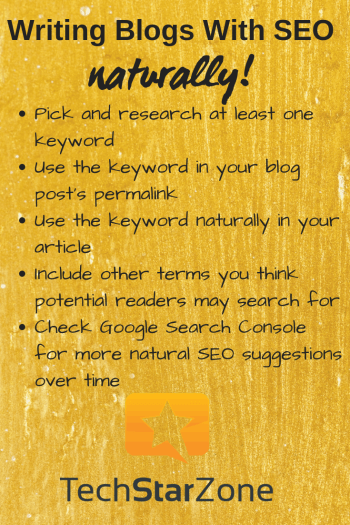 blog writing seo naturally