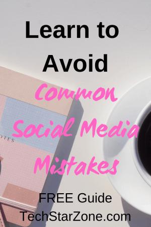 avoid common social media mistakes pinterest twitter Facebook Instagram