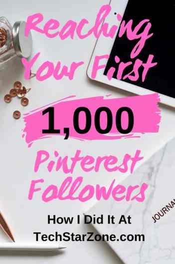 first 1000 Pinterest followers social media strategy
