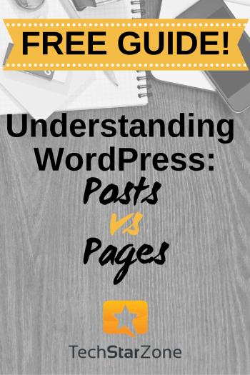 understanding wordpress posts vs pages