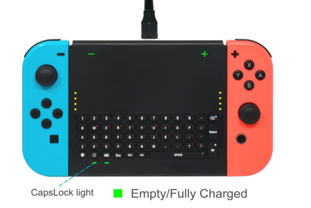FYOUNG switch keyboard charging