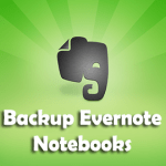Backup Evernote Notebooks