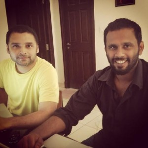 Ajeesh Udumbath and Anand Janardhanan. Founders at Vgulp.