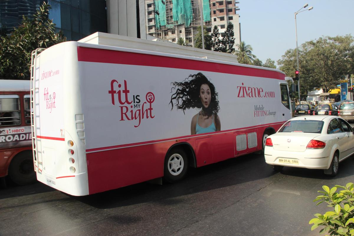 The launch of Fit Van in Mumbai