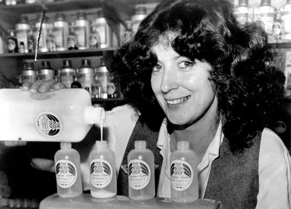 Mandatory Credit: Photo by Rex Features (1350527r) Anita Roddick of the Body Shop Various