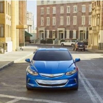 Electric autonomous Chevrolet Volt
