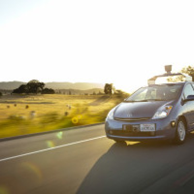 The first self driving car by Google