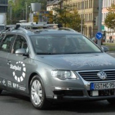 Another autonomous Volkswagen