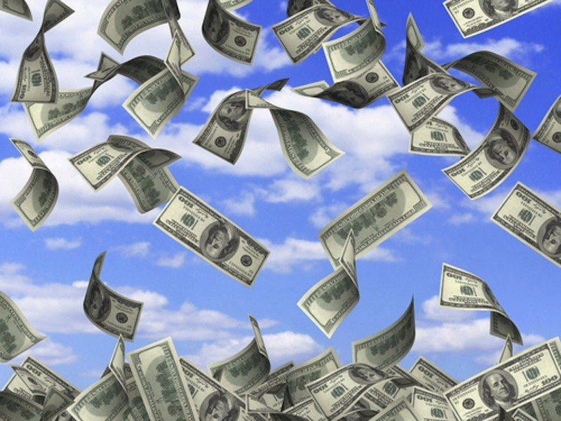 Money-shower