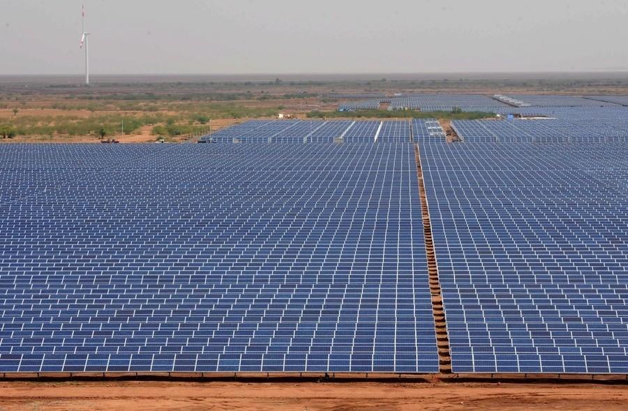 Solar Power plant at Charanka, Gujarat