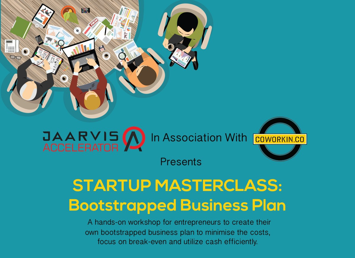 startup master class bootstrapped business plan