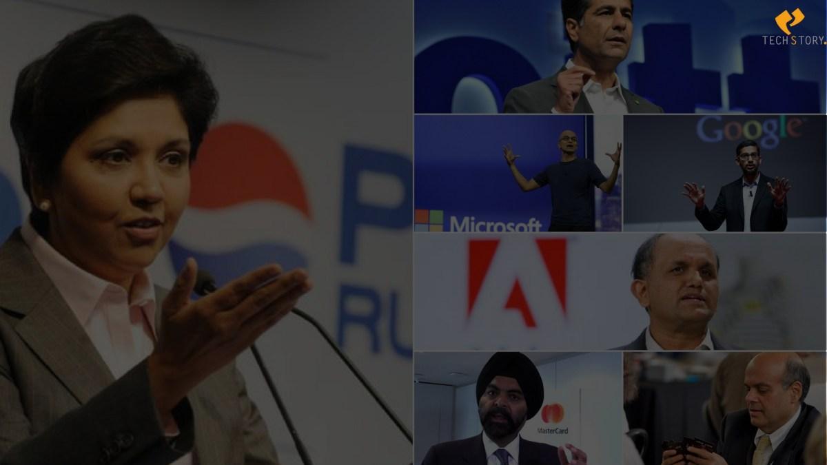 7 Indians Ruling U.S. Based Companies