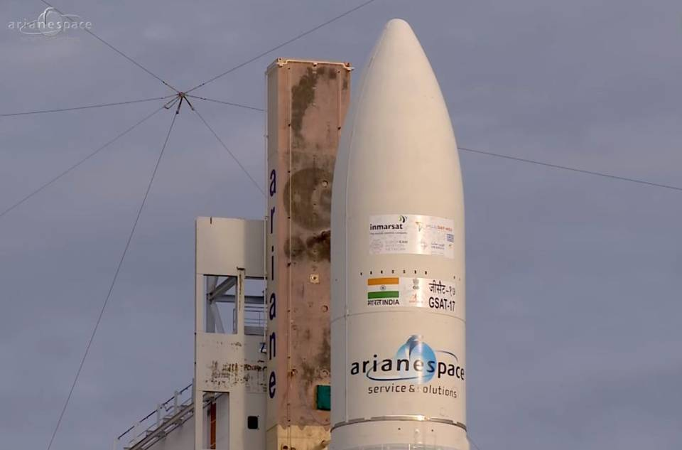 Isro gsat-17 launch