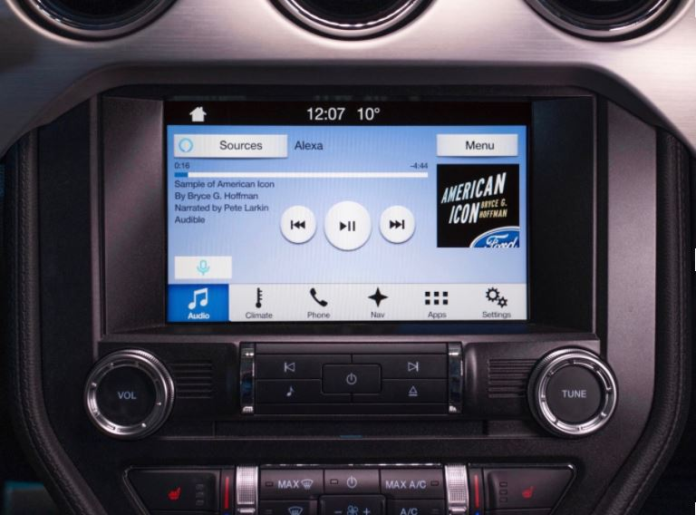 ford amazon connecting car alexa